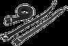 VELCRO Cable Wrap, Black w/M5 Fastener (10) -- ECWTD8B