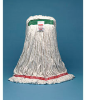 WEB FOOT WET MOP MED 1HB CTTN/SYN WHI 6 -- RCP A212 WHI