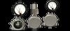 Hazardous Location Differential Pressure Gauge -- 1204PGS - Image
