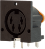 Interconnect > DIN Connectors > Standard Circular > Right Angle Receptacle -- SDS-70J