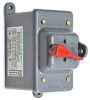 Manual motor controller, enclosed toggle switch type, mounted in ... -- 30323D -- View Larger Image