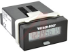 Timer;Totalizer;Lithium Battery;12-250VAC/VDC I/P;Hrs and 1/100 Res.;LCD;8 Digit -- 70132582 - Image