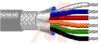 Cable; 37 cond; 22 AWG; Strand (7X30); Foil+braid shielded; Chrome jkt; 500 ft. -- 70005322 -- View Larger Image