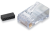 CAT6 Modular RJ-45 Connectors, 100-Pack -- FM860-100PAK