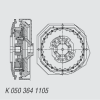 Flexible Coupling -- K 050 364 1105