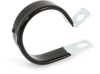 "25524 1 1/2"" Vinyl Coated Cushioned Full Clamp, 1/2"" Wide -- 25524 -- View Larger Image"