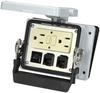 Panel interface connector Mencom GF-2RJ45-5R-32