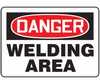 MWLDD05VP - Safety Sign, Danger - Welding Area, 10