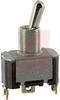 Switch, AC Rated, Toggle, SINGLE POLE, ON-ON, SCREW TERM., 15A@125V; 10A@250V -- 70155727 - Image