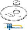 Legrand - Wiremold Brass or Brushed Aluminum Duplex Lug.. -- 895SP