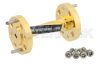 WR-10 90 Degree Waveguide Twist With a UG-387/U-Mod Flange Operating From 75 GHz to 110 GHz -- PE-W10TW1001 - Image