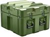 Pelican AL2624-1205 Single Lid Cube Shipping Case - No Foam with Casters - Olive Drab -- PEL-AL2624-1205RPC137 -Image