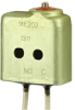 XE Series Environmentally Sealed Basic Switch, Single Pole Normally Open Circuitry, 7 A at 115 Vac, Pin Plunger Actuator, Leadwire Termination, Pin Plunger Actuator -- 1XE202