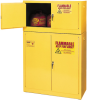 15-Gallon Flammable Liquid Safety Add-On Storage Cabinet -- CAB134-YELLOW