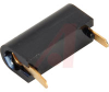 Test Jack, printed circuit, .13 length,black, gold finish, for 1/16 board thkns -- 70209852