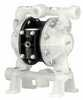 Cole-Parmer Air Operated Double Diaphragm Pump, Polyproylene body and seats, polyurethane ball and diaphragm, 14.4 GPM, 100 PSI -- EW-75320-90