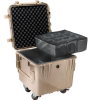 Pelican 0340 Cube Case with Padded Dividers - Desert Tan -- PEL-0340-004-190 - Image
