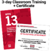 NFPA 13, Installation of Sprinkler Systems (2019) 3-day Classroom Training with Certificate of Educational Achievement - Image