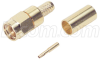RP-SMA Plug Crimp for 200-Series Cable Gold -- HPC202