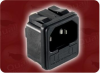 Quail P/N: 6200.4315W-187Electrical Inlet| IEC IEC-60320-C14 INLET FUSED POWER CONNECTOR -- 6200.4315W-187IN