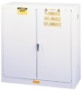 Hazardous Liquid Safety Storage Self-Close Cabinet -- CAB25302-WHITE