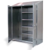 Stainless Steel Broom Closet Cabinet -- 36-BC-244-SS