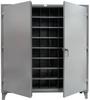 Multifaceted Metal Bin Storage -- 66-247-72OP - Image