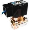 Process Solenoid Valve, 2 port, pilot operated, 1/2 port, NC, 24VDC, conduit -- 70071388