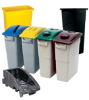 Rubbermaid Slim Jim Containers Recycling System -- 8711