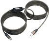 USB 2.0 A/B Active Repeater Cable (M/M), 25-ft. -- U042-025 - Image