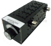 Tunable Band Pass Filter With N Female Connectors From 1.5 GHz to 3 GHz With a 5% Bandwidth -- SBPF-1500-3000-05-N -Image
