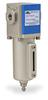 Pneumatic / Compressed Air Filter: 1/8 inch NPT female ports -- AF-213-D - Image