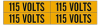 Conduit & Voltage Markers -- 44202