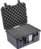Pelican 1507 Air Case with Foam - Black | SPECIAL PRICE IN CART -- PEL-015070-0000-110 -Image