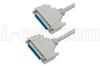 Deluxe Null Modem Reverser Cable, DB25 Female / Female, 25 ft -- CSNULL25FF-25