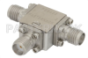 Circulator With 18 dB Isolation From 7 GHz to 12.4 GHz, 10 Watts And SMA Female -- PE8403 - Image