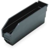 Shelf Bin,Recycled,L 11 5/8,W 2 3/4,Blk -- 1NTW9