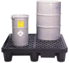4-Drum Low Profile Spill Pallet -- PAL104