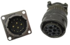 Cylindrical, Metal, Bayonet Coupling, Harsh Environment, Power & Signal Connector -- Mil-C-26482 Series L