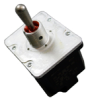 NT Series Toggle Switch, 4 pole, 2 position, Screw terminal, Standard Lever -- 4NT1-8 -- View Larger Image