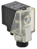 Pneumatic Solenoid Valve Connector: 18mm DIN Form A plug -- SC18-0