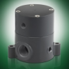 Series BSDA Air-Operated PTFE Diaphragm Valve -- BSDA150T-NC-PV