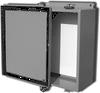 Powder Coated Steel NEMA 12 Wallmount One Door Single Access -- J-643LC