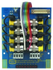 12 Valve, Electronic Manifold Card, No Valves With Mounting Hardware -- EMC-12-00-01 - Image