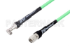 SMA Male Right Angle to TNC Male Low Loss Test Cable 36 Inch Length Using PE-P300LL Coax, RoHS -- PE3C1617-36 -Image