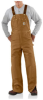 Men's Duck Bib Overall Quilt Lined -- CAR-UR02