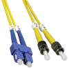 2m ST-SC Singlemode Duplex 9/125 Fiber Optic Cable (6.56ft) -- 10ST-SC02