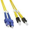 10m ST-SC Singlemode Duplex  9/125 Fiber Optic Cable (32.8ft) -- 10ST-SC10 - Image