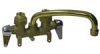 Faucet with Cast Brass Body, Rough Brass -- 4-2-1 -Image
