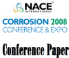 08036 Evaluation of Steel and TSA Coating in a Corrosion Under Insulation (CUI) Environment -- 51300-08036-SG